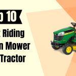 Riding Lawn Mower and Tractor