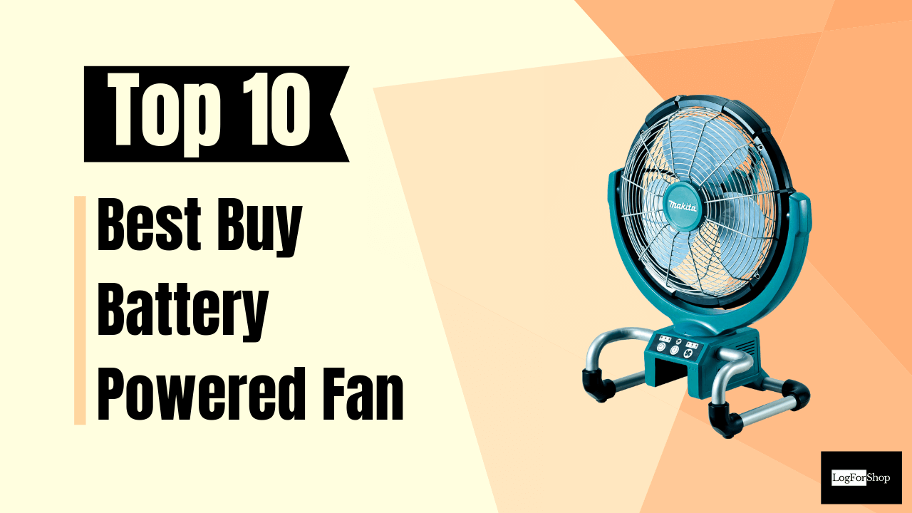 Battery Powered Fan