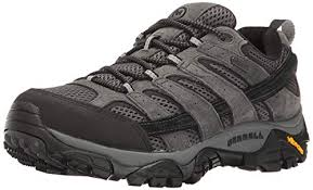 Merrell Men's Moab 2 Waterproof Hiking Shoe, Granite, 10.5 M US ...